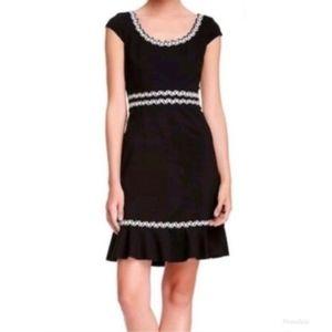 Betsey Johnson Black & White Dress Sz 10